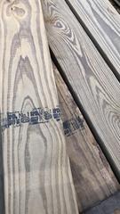 南方松户外防腐木地板料