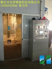 DISK自動靜電噴漆設備 靜電噴漆機