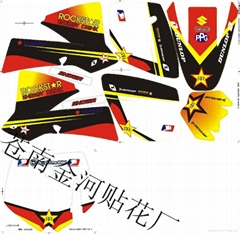 KTM sticker 3M material