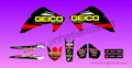 GEICO GRAPHIC STICKER KIT FOR HONDA 150