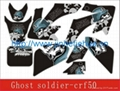 3M CRF50 Ghost Soldier Dirt bike Sticker