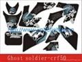 3M CRF50 Ghost Soldier Dirt bike Sticker