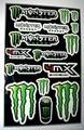 PVC mototcycle sticker sheet Vinyl Sticker sheet One industry sticker sheet