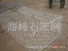 双绞合镀锌石笼网