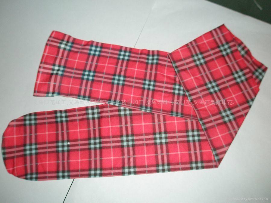 袜子热转印印花 1