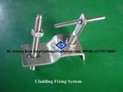 stainless steel Z Angle of cladding fixation
