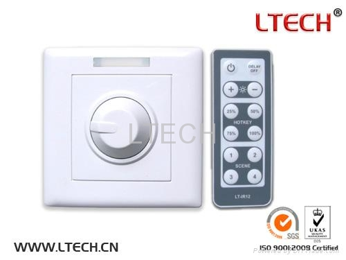 Intelligent LED swith Dimmer IR wireless remote control CC 700mA/CH*1 1