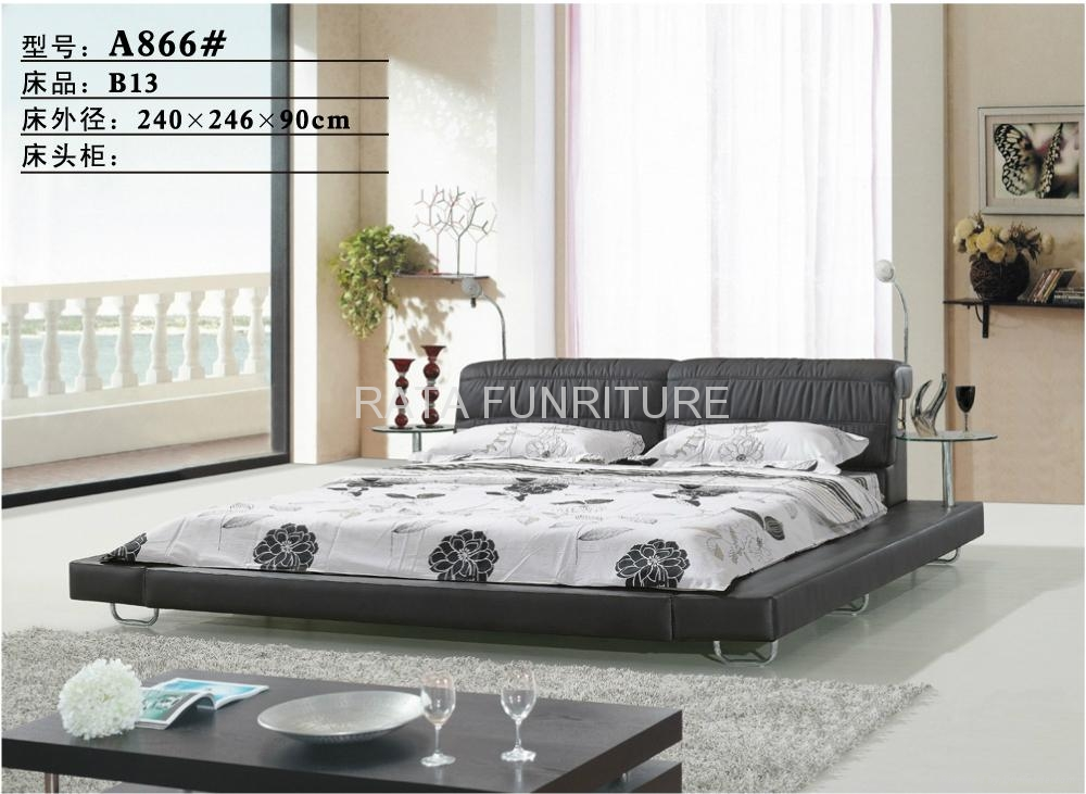 2012 new design convenient tomenta king bed China Trading Company. New Bed Design