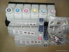 雙六色供墨系統用於羅蘭Roland 武藤Mutoh 御牧Mimaki寫真機 噴繪機
