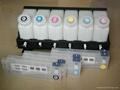6 color bulk ink system use for Roland