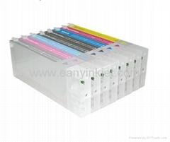 refillable empty ink cartridges for Epson PRO 9880/7880