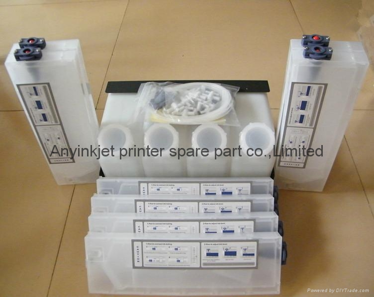 垂直插墨盒供墨系统用于罗兰Roland VS640/540/420/400 RA640 1