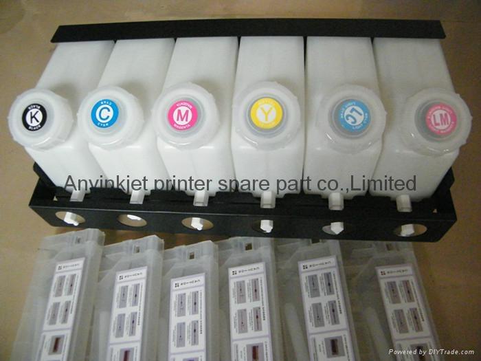 雙六色供墨系統用於羅蘭Roland 武藤Mutoh 御牧Mimaki寫真機 噴繪機 3