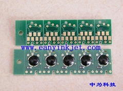 Maintenance tanks chip for Epson  4880 7880 9800 7890 9900 maintenance tank chip