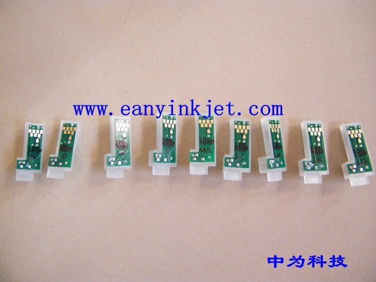 爱普生3800C 3850 3880 3885 3890大幅面打印机墨盒永久芯片 2