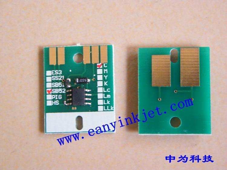 御牧 Mimaki JV5 SB51 SB52 SB53 JV33 ES3 HS HS1 墨盒永久芯片 1