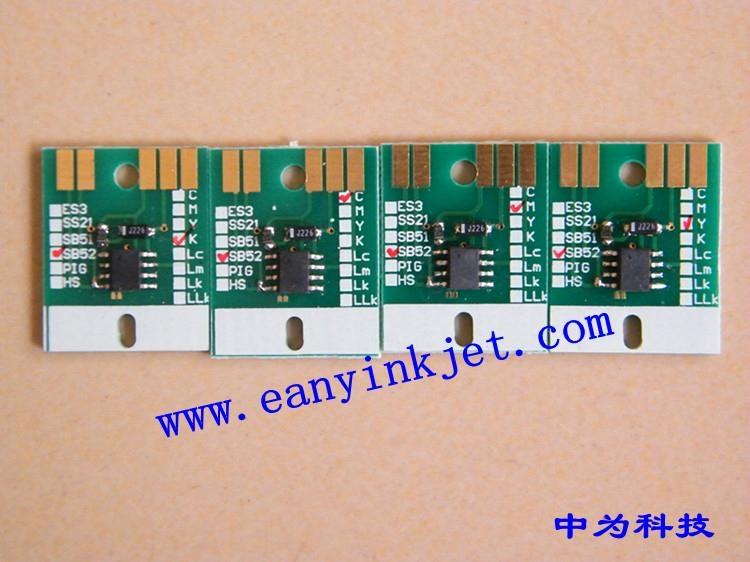 御牧 Mimaki JV5 SB51 SB52 SB53 JV33 ES3 HS HS1 墨盒永久芯片 3