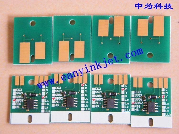 御牧 Mimaki JV5 SB51 SB52 SB53 JV33 ES3 HS HS1 墨盒永久芯片 5