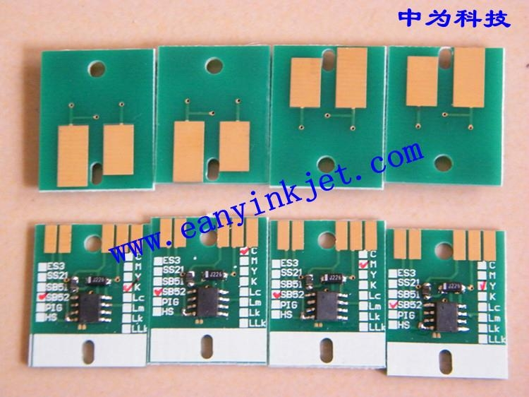 御牧 Mimaki JV33 SS21 ES3 SB52 HS HS1 Pigment 墨盒  芯片 5