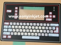 Willett 400 series pritner keyboard willett 430 43S 43P 460 46P printer keyboard