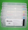refillable ink cartridge with chip for Epson 10000 10600 printer
