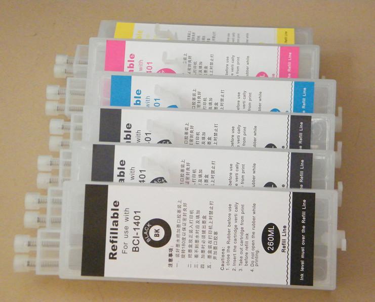 refillable cartridge for Canon IPF500 600 700 510 610/710 printer