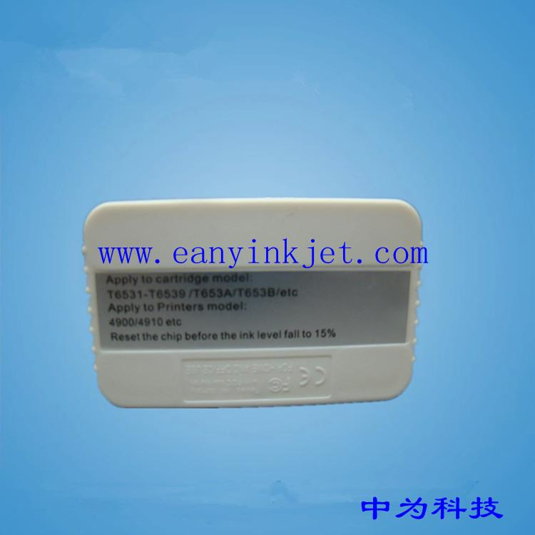 T6910 Maintenance Tank Chip Resetter For Epson Stylus Pro 4900 4910 Printer