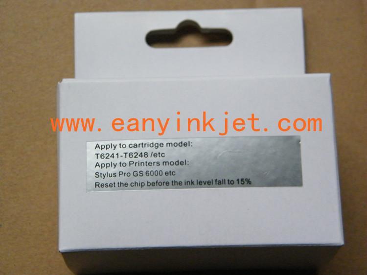GS6000 resetter for Epson GS6000 ink cartridge chip resetter 7