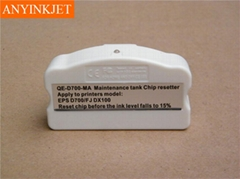 D700 resetter for epson D700 maintenance tank chip resetter for epson d700 waste