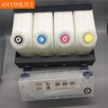 4 color bulk ink system for Roland Mimaki JV33 JV5 Mutoh 1614 1604 prnter