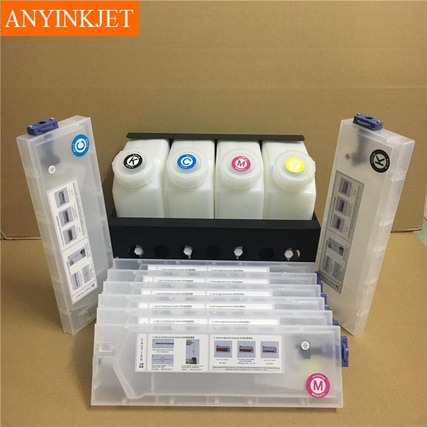 垂直插墨盒供墨系统用于罗兰Roland VS640/540/420/400 RA640 6