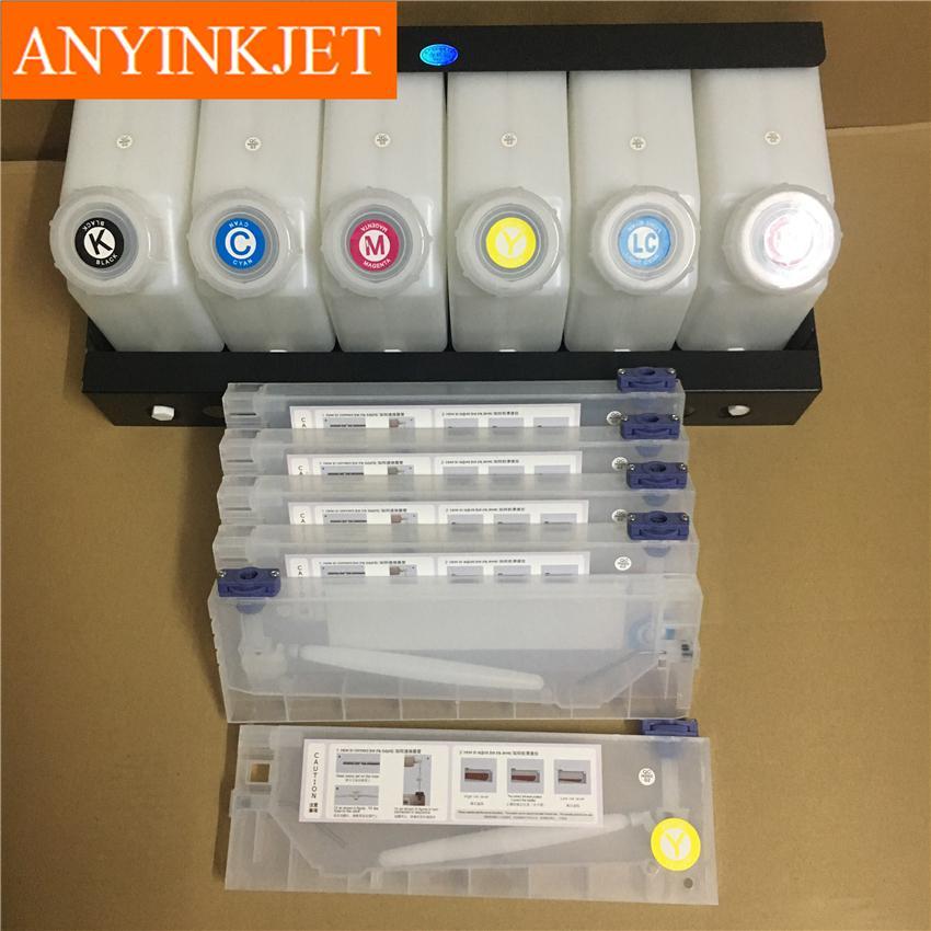 六色供墨系統用於羅蘭Roland 武藤Mutoh 御牧Mimaki 寫真機/大幅面打印機 6