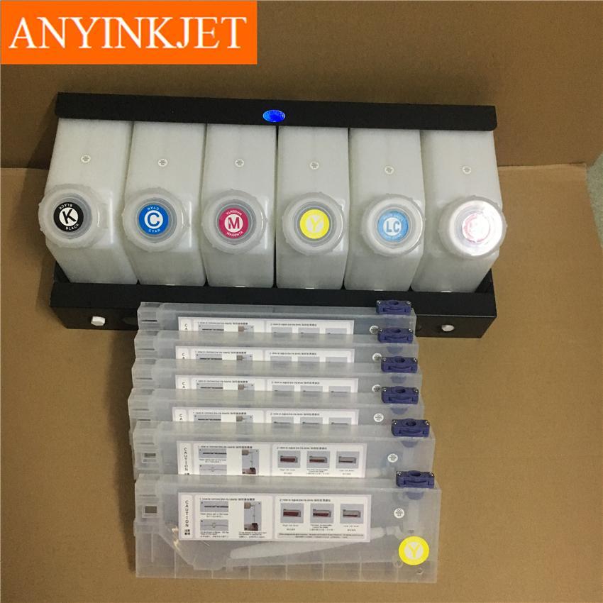 六色供墨系統用於羅蘭Roland 武藤Mutoh 御牧Mimaki 寫真機/大幅面打印機 7