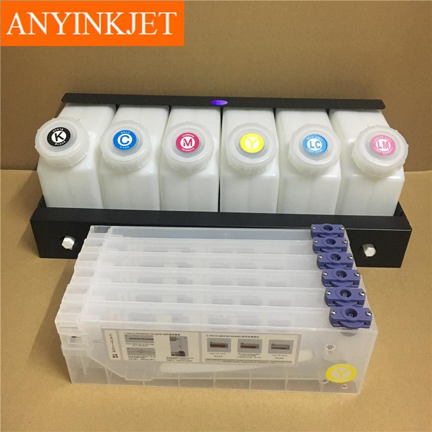 六色供墨系統用於羅蘭Roland 武藤Mutoh 御牧Mimaki 寫真機/大幅面打印機 10