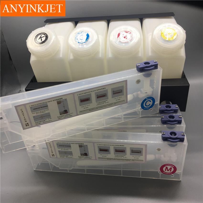 四色供墨系統用於羅蘭Roland 武藤Mutoh 御牧Mimaki寫真機 大幅面打印機 噴繪機 6