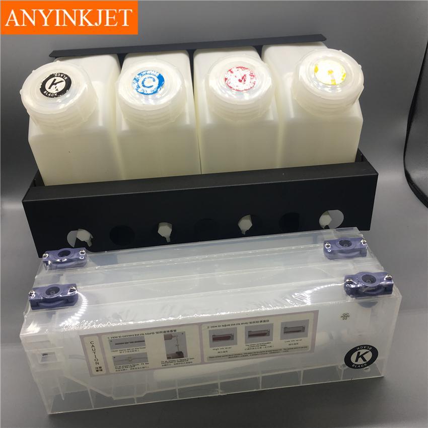 四色供墨系统用于罗兰Roland 武藤Mutoh 御牧Mimaki写真机 大幅面打印机 喷绘机 7