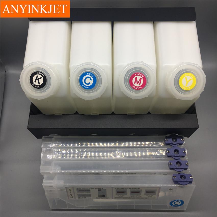 四色供墨系統用於羅蘭Roland 武藤Mutoh 御牧Mimaki寫真機 大幅面打印機 噴繪機 8