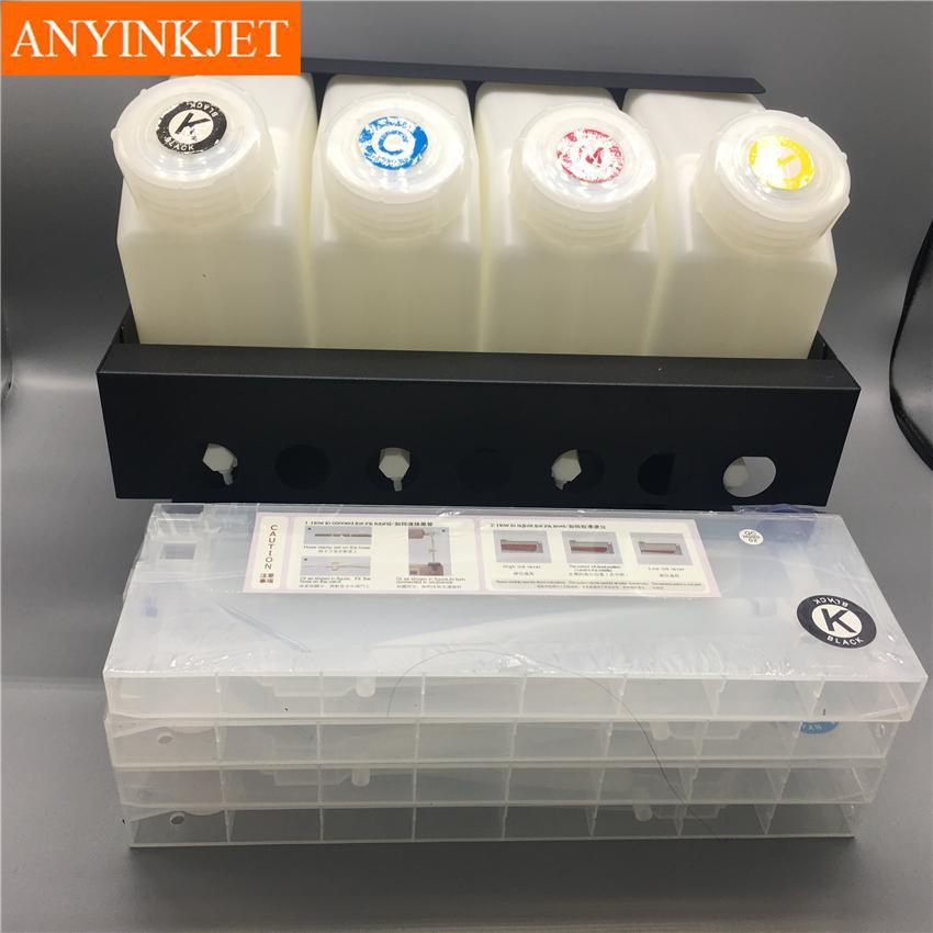 四色供墨系統用於羅蘭Roland 武藤Mutoh 御牧Mimaki寫真機 大幅面打印機 噴繪機 11