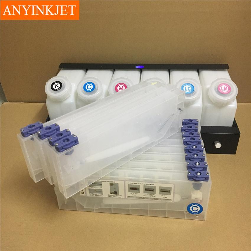 雙六色供墨系統用於羅蘭Roland 武藤Mutoh 御牧Mimaki寫真機 噴繪機 7