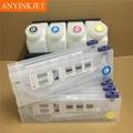 Double 4 color bulk ink system for Mimaki JV33 JV5 JV3 printer