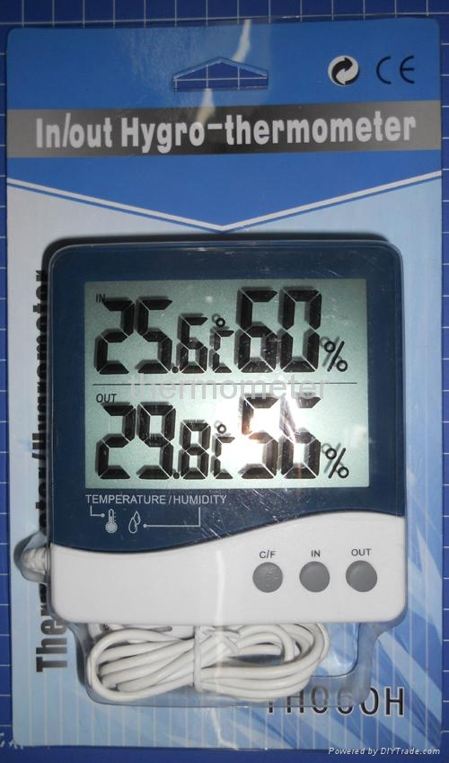 Digital thermometer & Hygrometer with CE approval 5