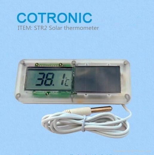 Solar Digital fridge thermometer  1