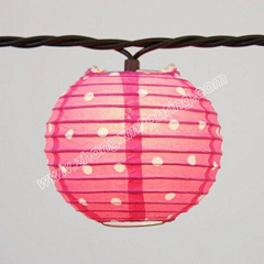 Party String Lights- PAPER LANTERN