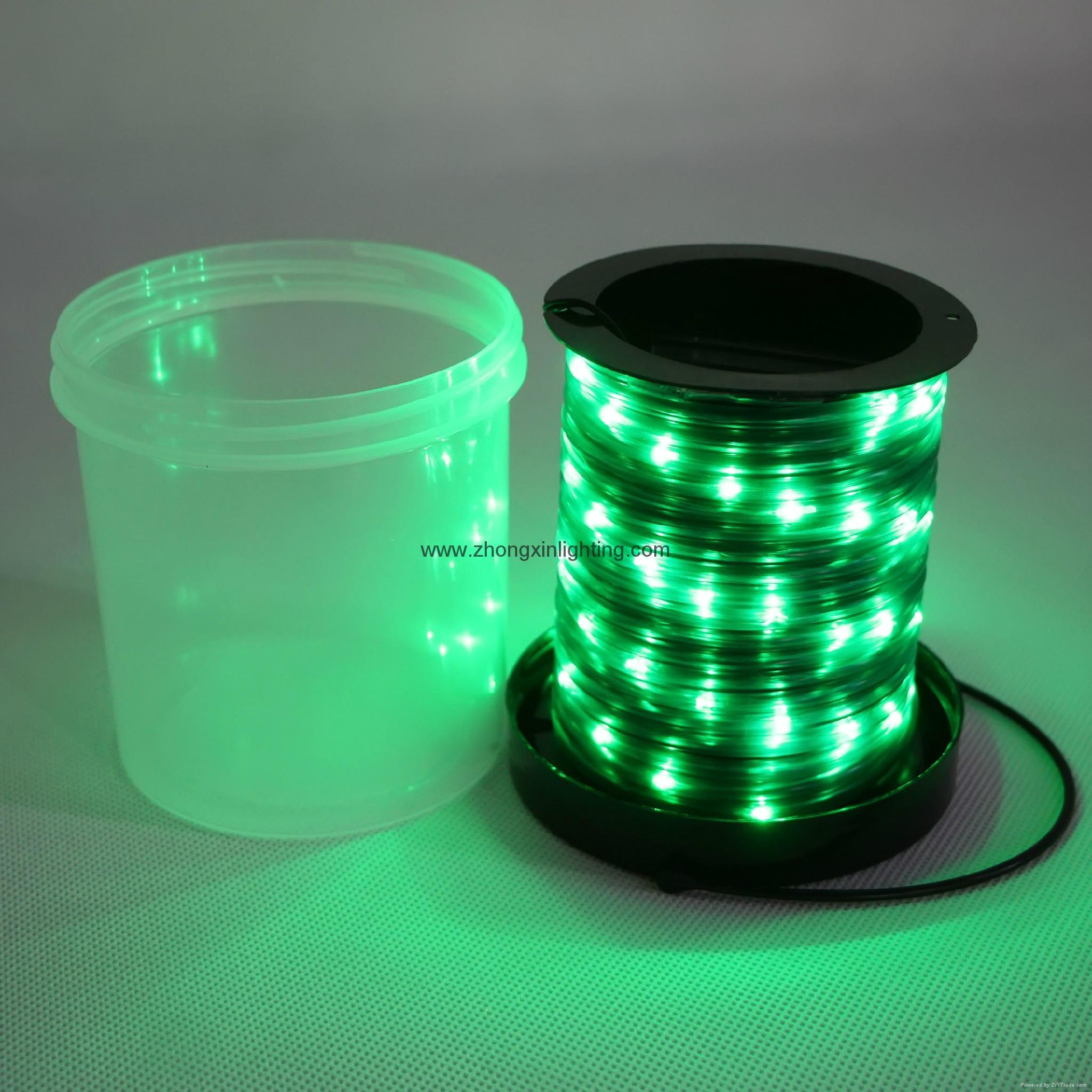 Christmas Decoration Light-BO 67 Miro Mini Green LED Rope Light 2