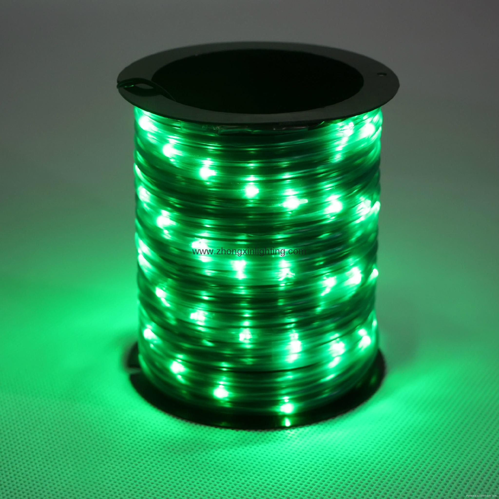 Christmas Decoration Light-BO 67 Miro Mini Green LED Rope Light 1