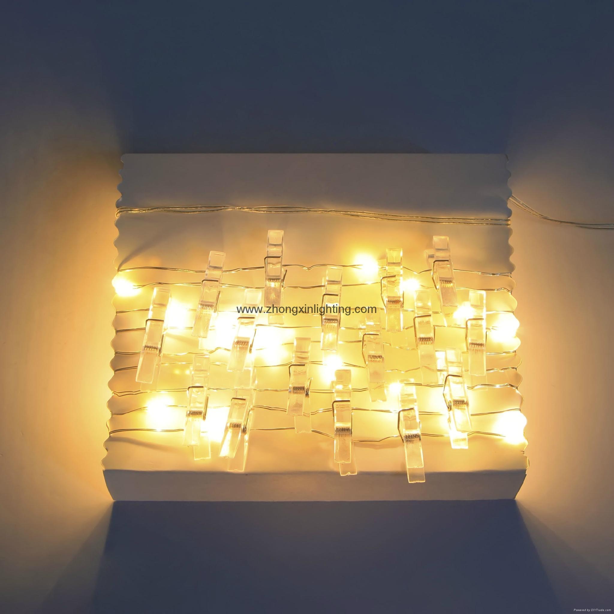 led string light bo 25 smd mini clip string lights kf67218ww lawn and garden international. Black Bedroom Furniture Sets. Home Design Ideas