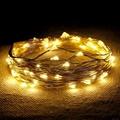 Garden String Light-Decorative G40 Bronze Cafe Light 8ct