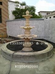 欧式砂岩流水喷泉