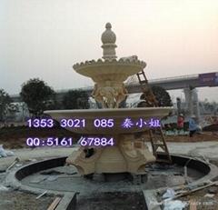 大型廣場雕塑砂岩噴泉