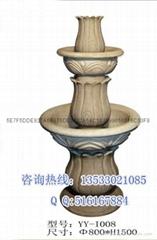 人造砂岩雕塑喷泉